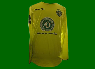 2016/17. Camisola Chapecoense do Sporting, Rui Patrício