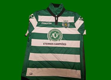 2016/17. Camisola Chapecoense do Sporting, Alan Ruiz
