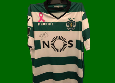 Camisola do Sporting do Gelson Martins