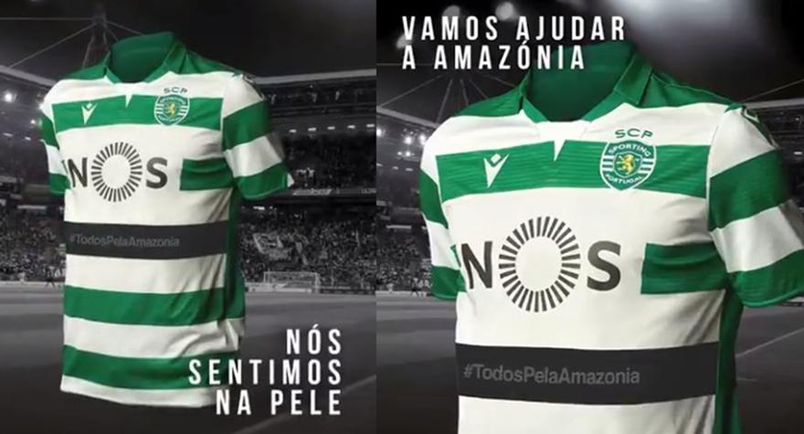 Todos pela Amazónia #todospelaamazonia Sporting-Rio Ave