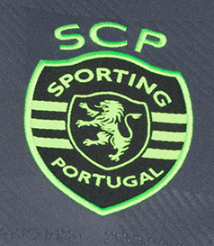 2018/19. Camisola alternativa do Sporting