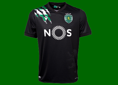 2020/21. Equipamento alternativo do Sporting
