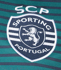 2019/20. Camisola do Sporting alternativa