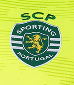 2019/20. Camisola alternativa de guarda-redes do Sporting