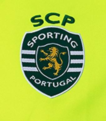 2020/21. Camisola do Sporting de guarda-redes alternativa