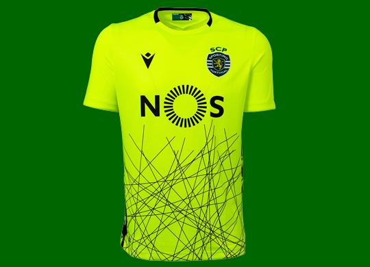 2020/21. Equipamento de guarda-redes alternativo do Sporting