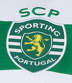 2019/20. Camisola sem publicidade do Sporting