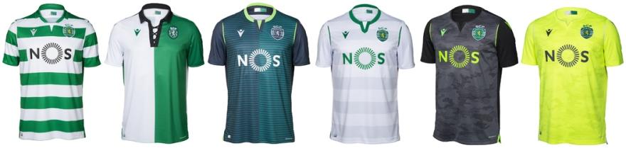 todas as camisolas: nova camisola do Sporting 2019/20
