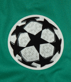 camisola da Champions League, com patch da Champions