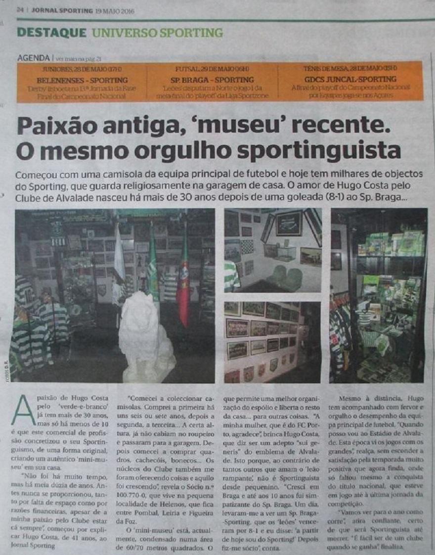 Colecção do Sporting Clube de Portugal