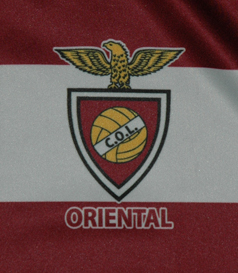 2018/19. Camisola de futebol do Clube Oriental de Lisboa