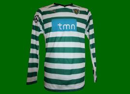 Camiseta stromp Sporting Taça de Portugal Angulo 2010