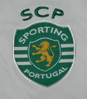 Camisola de jogo do Sporting Carriço Bilbao contra o Athletic 26 de Abril
