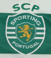 Match worn Sporting Lisbon home jersey Daniel Carriço Europe League 2012/13