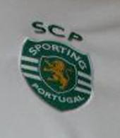A outra camisola de jogo do Sporting Carriço Bilbao contra o Athletic 26 de Abril