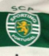 Camisola de jogo do Sporting listada do Carriço modelo do campeonato nacional usado de 13 de Agosto até 3 de Novembro de 2011