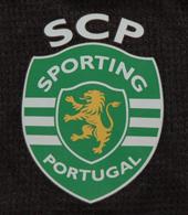 Camisola alternativa preta quarto equipamento jogo do campeonato nacional Carriço, Sporting