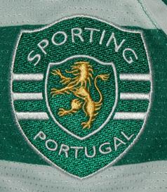 2010/11. Equipamento de jogo do Evaldo Puma Sporting