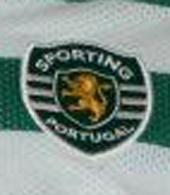 Official Sporting Lisbon football top match worn by Liedson 2008/09