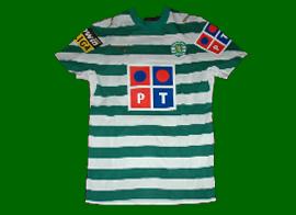 Sporting Portugal match worn shirt Liedson 2006 07