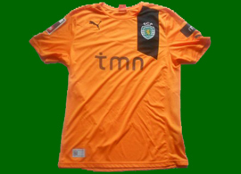 Miguel_Lopes match worn away replica jersey, Sporting Lisbon 2012/13