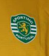 2006/2007. Equipamento alternativo amarelo do Nani, campeonato nacional