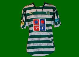 Equipamento de jogo listado do Derlei Sporting Portugal 2008