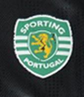 Sporting Libon 2006/07 Black goalkeeper jersey, personalized Ricardo