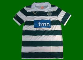 nova camisola do Sporting 2011 2012 Ricky van Wolfswinkel numero 9