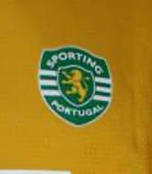 2006/2007. Sporting Lisbon yellow third shirt of Romagnoli, national championhip