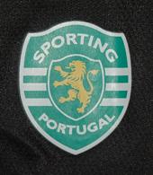 equipamento de jogo do guarda-redes de mangas curtas Rui Patrício Sporting 08/09