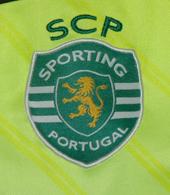 Camisola de guarda redes do Rui Patrício de jogo, modelo Taça da Liga, em que o guarda-redes titular foi sempre o Marcelo Boeck. Esta é uma camisola usada no banco de suplentes