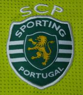 Sporting Lisbon 2012/13 Rui Patrício goalkeeper shirt