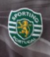 Camisola usada em jogo pelo guarda redes do Sporting e de Portugal Rui Patrício