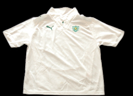 Camisola alternativa Sporting Portugal 2008 2009