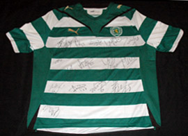 Camisola Sporting Francisco Lemos 2009 2010