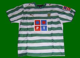 Sporting Lisbon symbol home shirt 2006 07
