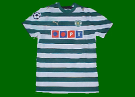 Liedson Champions League shirt Sporting Lisbon