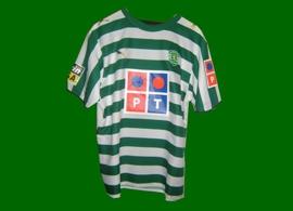 match worn by Liedson Brazil Brasil Portugal national team