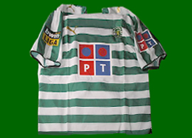 patched up replica Sporting LisboanNani match un worn