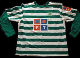 Portugal Sporting home shirt kit