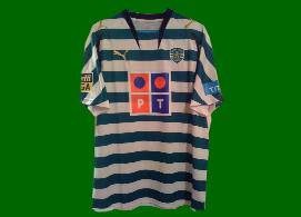 Portugal Sporting MWS shirt Abel 2007