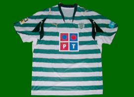 Sporting soccer Argentina match worn jersey Romagnoli 2007