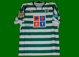 Sporting Lisbon Miguel Veloso shirt 2007 08
