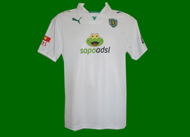 Camisa alternativa Helder Postiga Sporting Lisboa 2008/09