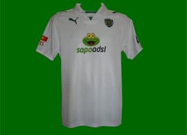 matchworn shirt Miguel Veloso Sporting Portugal 2008/09