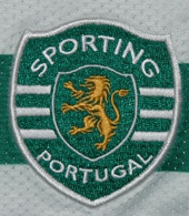 Sporting Lisbonne Portugal maillot 2008 2009 logo