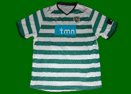 Sporting Lisbonne Portugal maillot 2008 2009