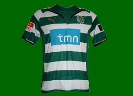 Camiseta Sporting Portugal Moutinho 2010