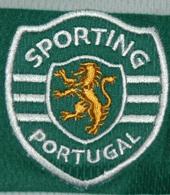 Sporting 2009 2010 camisola babete Puma logo